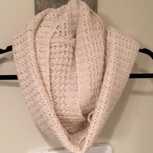 NWT LOFT super soft sparkle infinity scarf